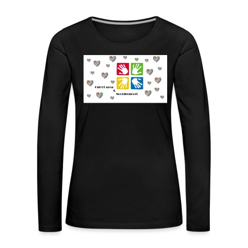 Bestsellers Out Of Area - Vrouwen Premium shirt met lange mouwen
