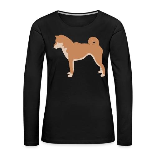 Shiba inu - Frauen Premium Langarmshirt