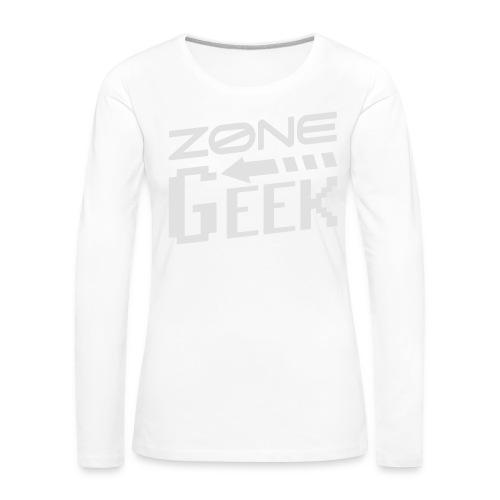 NEW Logo Homme - T-shirt manches longues Premium Femme
