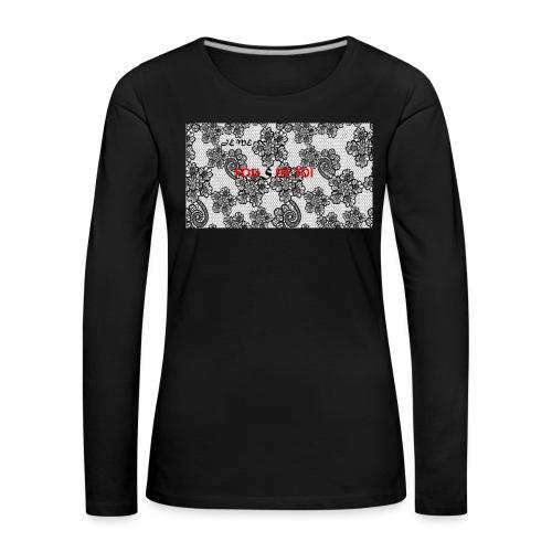 JE ME FOUS DE TOI 3 edite - T-shirt manches longues Premium Femme