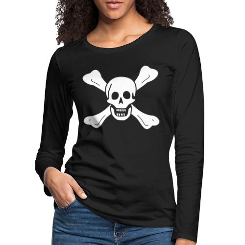 Richard Worley Flag - T-shirt manches longues Premium Femme