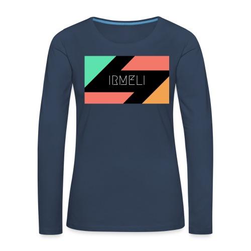 1 - Naisten premium pitkähihainen t-paita