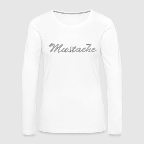 White Lettering - Women's Premium Longsleeve Shirt