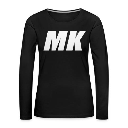 MK 3D - Vrouwen Premium shirt met lange mouwen