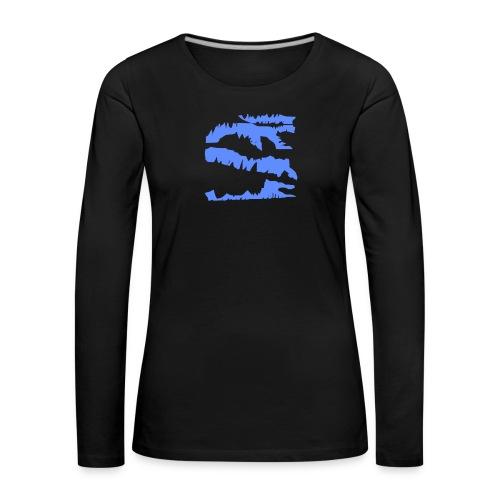 Blue_Sample.png - Frauen Premium Langarmshirt