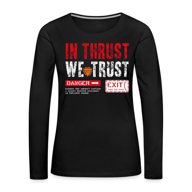 IN THRUST WE TRUST