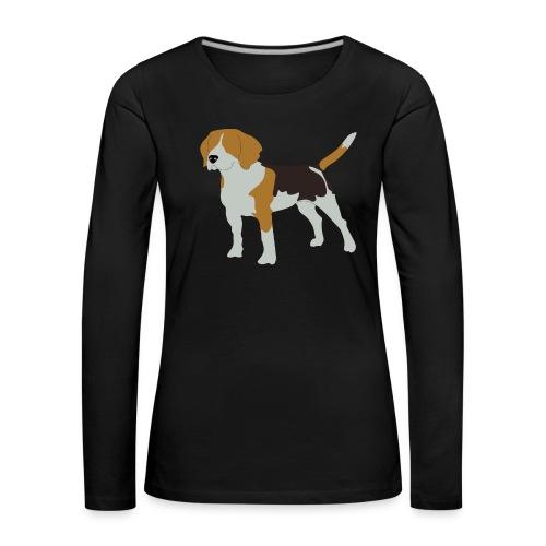 Beagle - Frauen Premium Langarmshirt