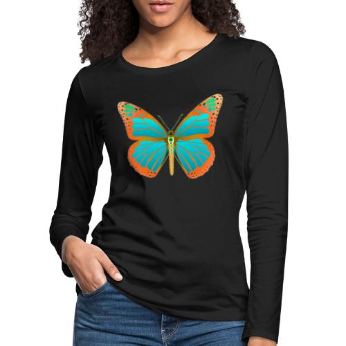 190531 Monarch Butterfly Dean version - Camiseta de manga larga premium mujer