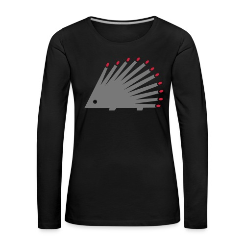 Hedgehog - Women's Premium Longsleeve Shirt