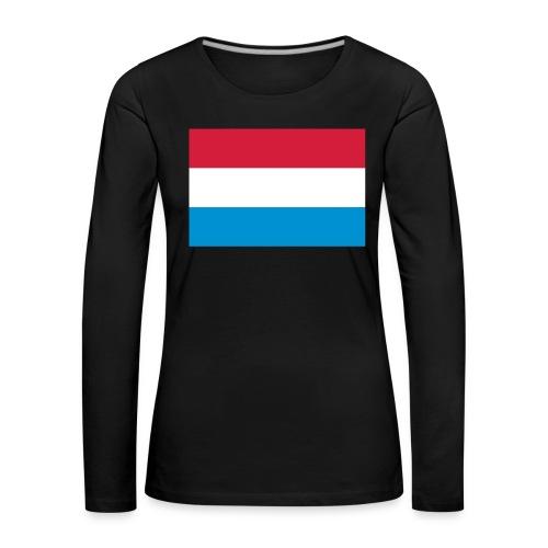 The Netherlands - Vrouwen Premium shirt met lange mouwen