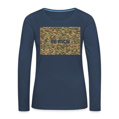 ARMY TINT - Vrouwen Premium shirt met lange mouwen
