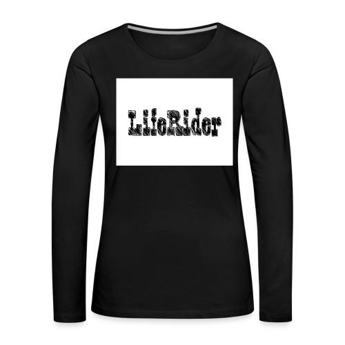 LifeRider - Frauen Premium Langarmshirt