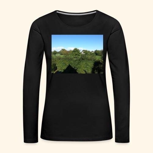 Jolie temps ensoleillé - T-shirt manches longues Premium Femme
