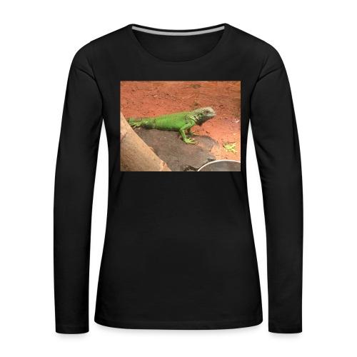 The Leguan - Frauen Premium Langarmshirt