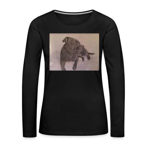 My dog - Långärmad premium-T-shirt dam