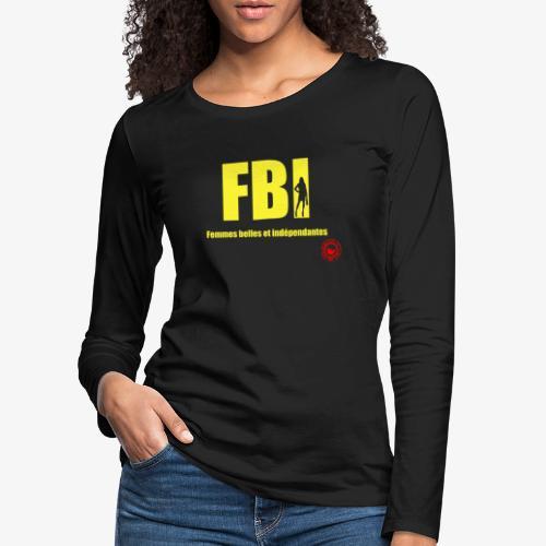 FBI - Women's Premium Longsleeve Shirt
