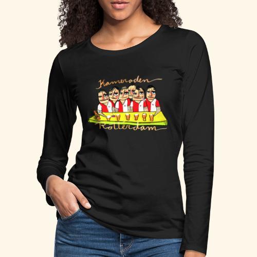Kameraden Feyenoord - Vrouwen Premium shirt met lange mouwen