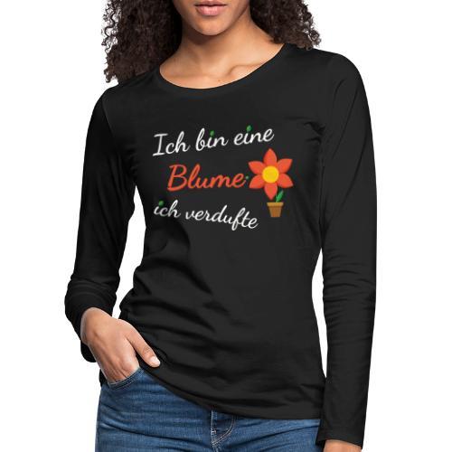 Blume Garten Gärtner Florist Shirt Geschenk - Frauen Premium Langarmshirt