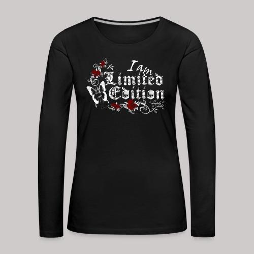 simply wild limited edition on black - Frauen Premium Langarmshirt