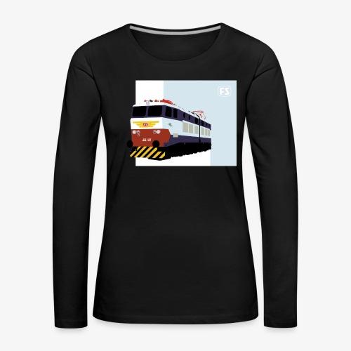 FS E 656 Caimano - Maglietta Premium a manica lunga da donna