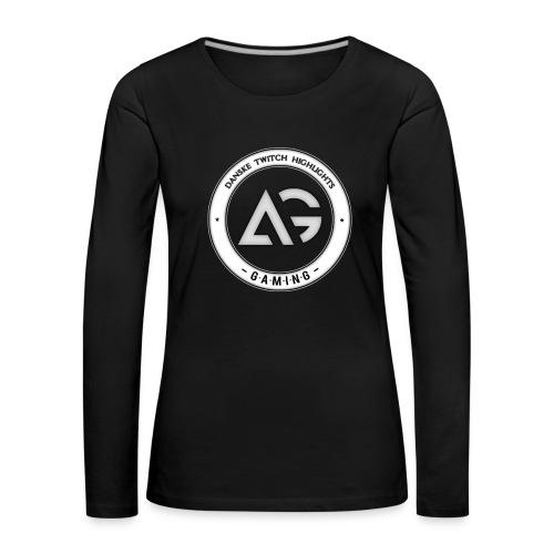 Amdi - Dame premium T-shirt med lange ærmer