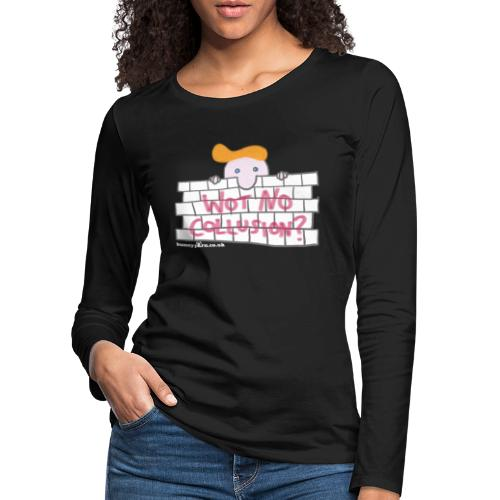 Trump's Wall - Women's Premium Longsleeve Shirt