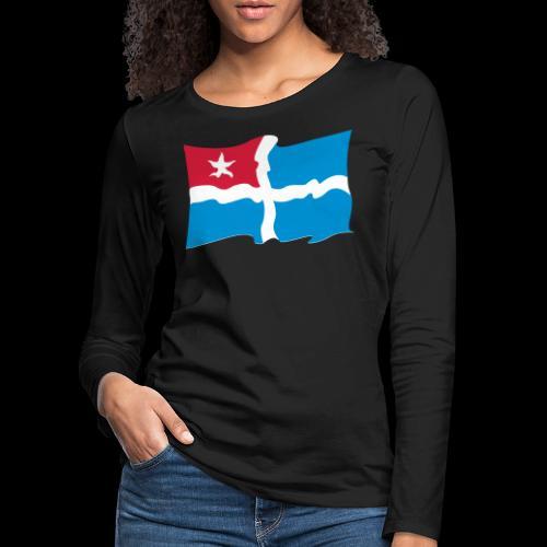 kreta - Frauen Premium Langarmshirt