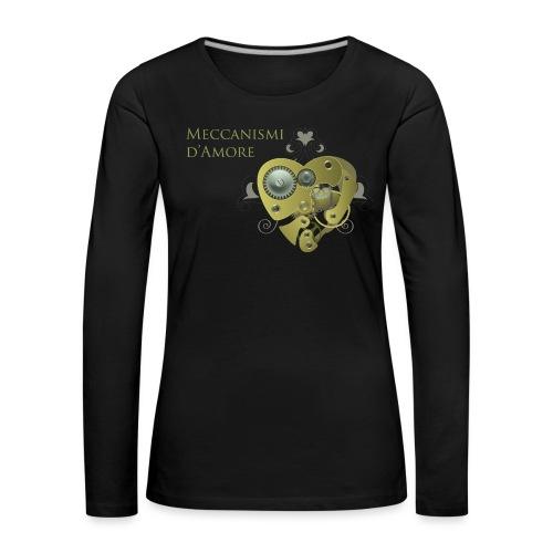 meccanismi_damore - Maglietta Premium a manica lunga da donna
