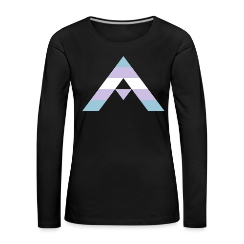 shirt_ally_trans - Långärmad premium-T-shirt dam