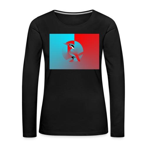 Vogel - Frauen Premium Langarmshirt