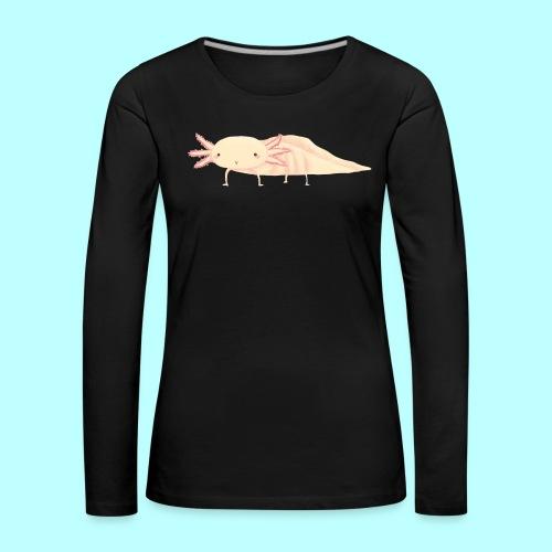 Axolotl - Frauen Premium Langarmshirt