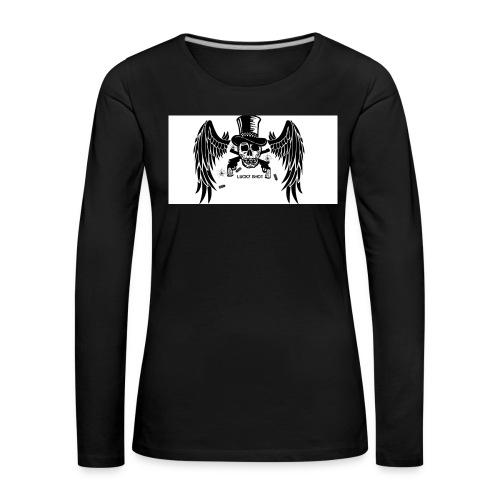 Lucky shot - Naisten premium pitkähihainen t-paita