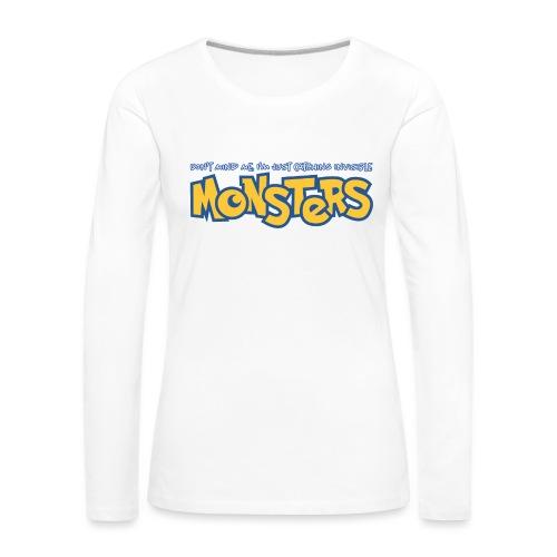 Monsters - Women's Premium Longsleeve Shirt