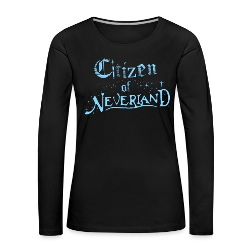 Citizen_blue 02 - Women's Premium Longsleeve Shirt