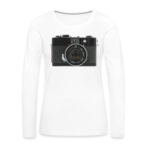 Vintage Camera Auto S3 - Maglietta Premium a manica lunga da donna