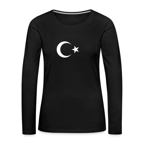 Turquie - T-shirt manches longues Premium Femme