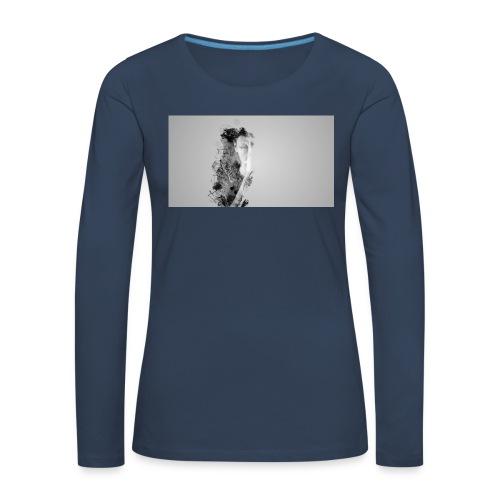 Art et Design - T-shirt manches longues Premium Femme