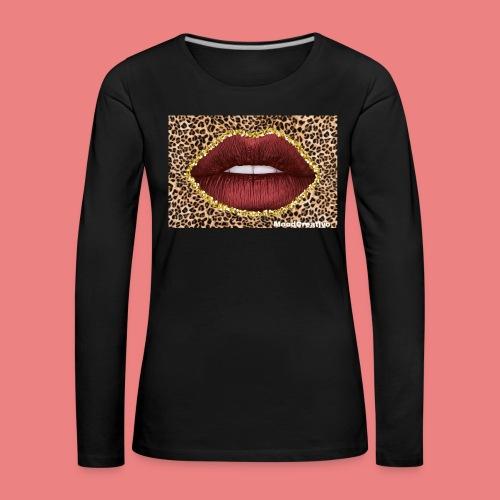 MoodCreativo - Maglietta Premium a manica lunga da donna