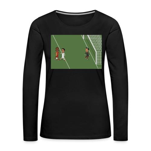 Backheel goal BG - Women's Premium Longsleeve Shirt