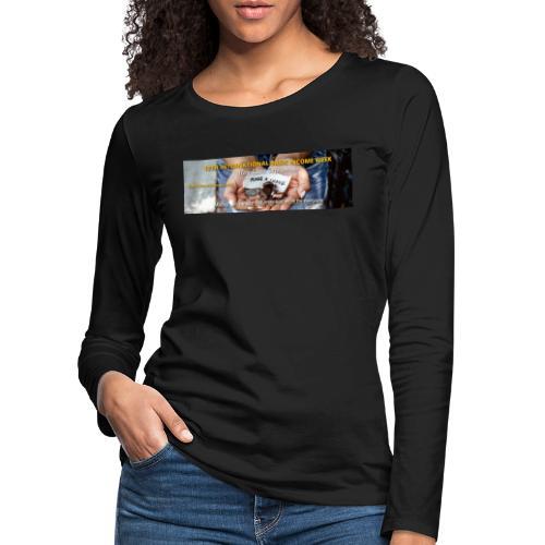 BIW-Cover - Vrouwen Premium shirt met lange mouwen