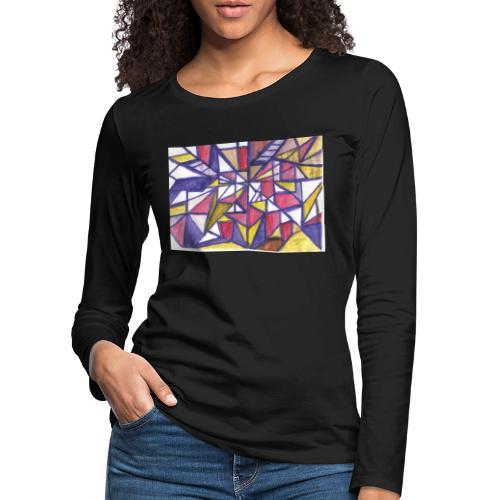 Flickenteppich - Frauen Premium Langarmshirt