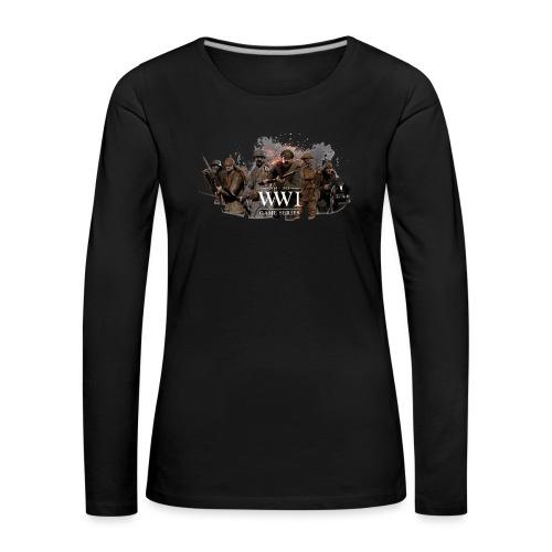 WW1 Game Series - Vrouwen Premium shirt met lange mouwen