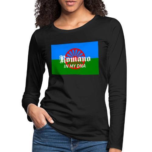 flaglennyinmydna - Långärmad premium-T-shirt dam