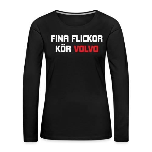 FONAFLICKORKOeRVOLVO - Långärmad premium-T-shirt dam