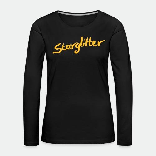 Starglitter - Lettering - Women's Premium Longsleeve Shirt