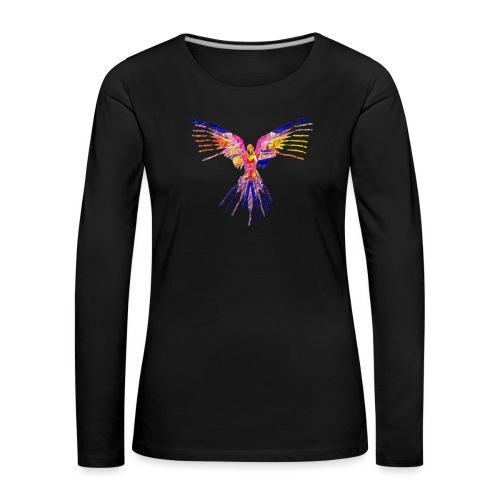 K.A Shirts - Dame premium T-shirt med lange ærmer