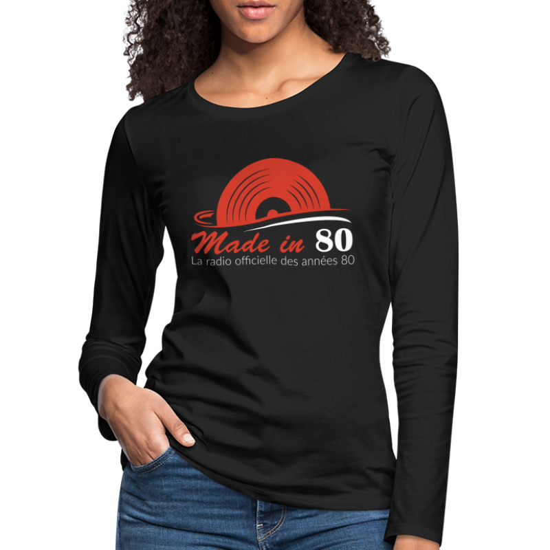 Made in 80 - T-shirt manches longues Premium Femme