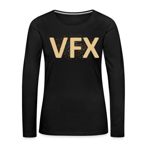 vfx - Frauen Premium Langarmshirt