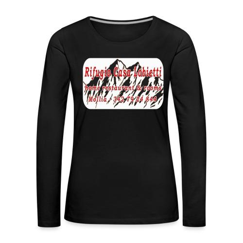 Rifugio Casa Lobietti - Maglietta Premium a manica lunga da donna