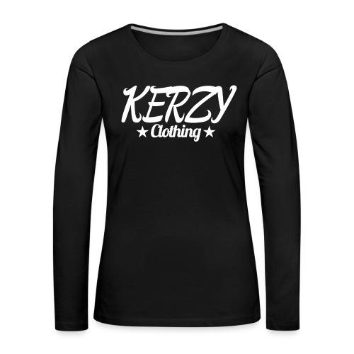 Official KerzyClothing T-Shirt - Women's Premium Longsleeve Shirt